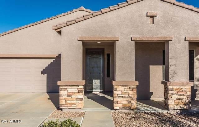 42352 W Posada Drive, Maricopa, AZ 85138 (MLS #6296371) :: Devor Real Estate Associates
