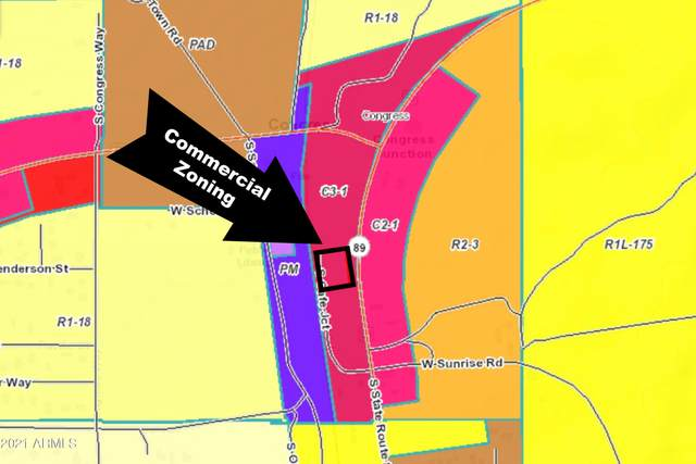 0000 Hwy 89, Congress, AZ 85332 (MLS #6296374) :: Devor Real Estate Associates