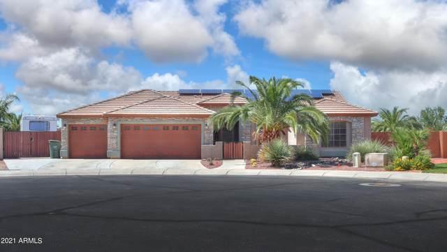 3835 N Kodiak Circle, Casa Grande, AZ 85122 (MLS #6296608) :: Dijkstra & Co.