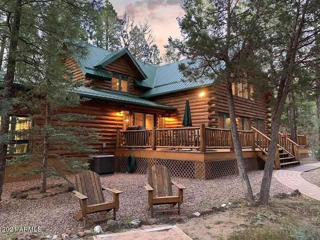 4543 Hilltop Drive, Lakeside, AZ 85929 (MLS #6296636) :: Yost Realty Group at RE/MAX Casa Grande