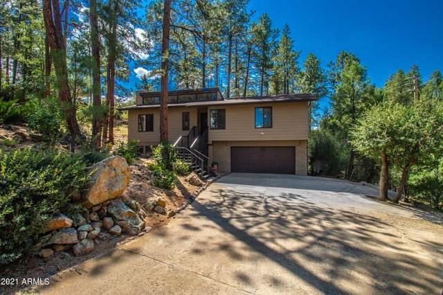 495 Banning Creek Road, Prescott, AZ 86303 (MLS #6296645) :: Devor Real Estate Associates