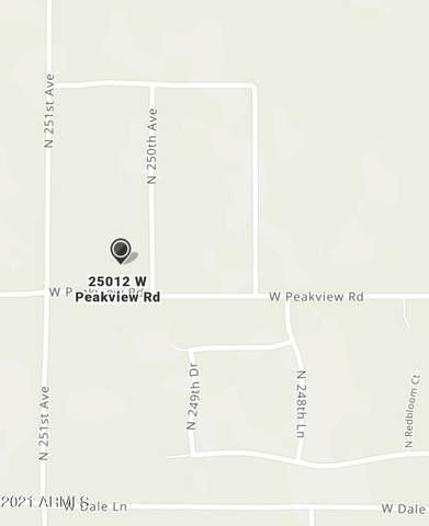 250XX W Peakview Road, Wittmann, AZ 85361 (MLS #6297344) :: Devor Real Estate Associates