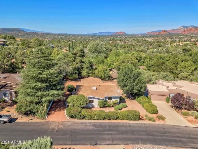 45 Rockridge Drive, Sedona, AZ 86336 (MLS #6297463) :: Openshaw Real Estate Group in partnership with The Jesse Herfel Real Estate Group