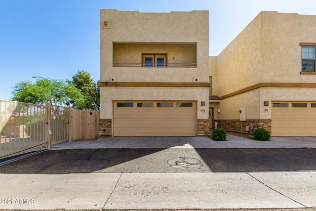 15818 N 25TH Street #101, Phoenix, AZ 85032 (MLS #6297492) :: The Riddle Group