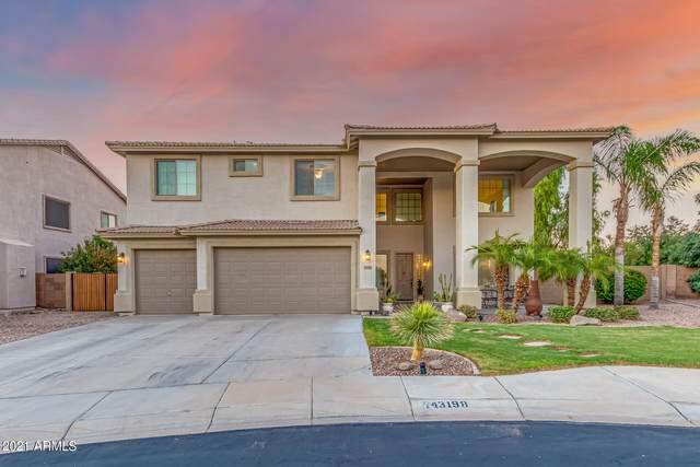 43198 W Knauss Drive, Maricopa, AZ 85138 (MLS #6297568) :: CANAM Realty Group