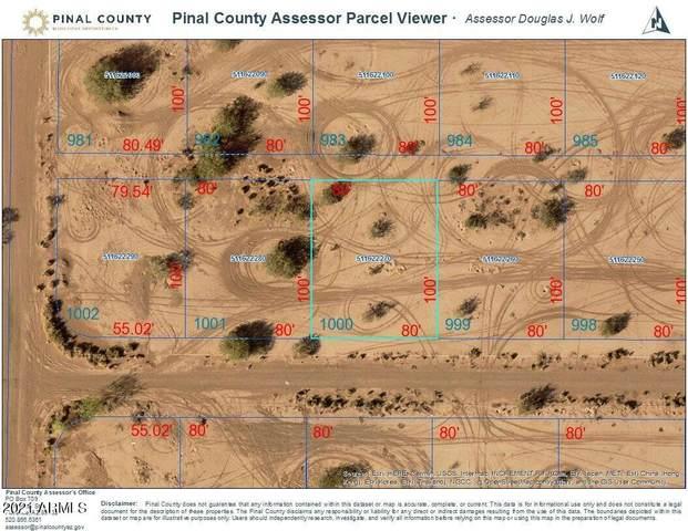 11502 W Tubac Drive, Arizona City, AZ 85123 (MLS #6297791) :: Executive Realty Advisors