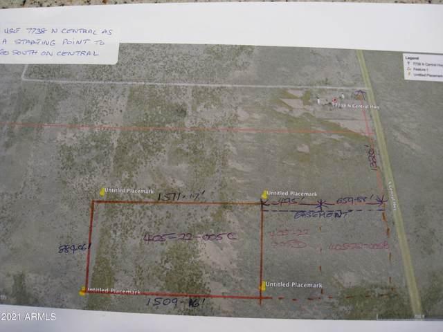 TBD Central Highway N, McNeal, AZ 85617 (MLS #6298273) :: The Daniel Montez Real Estate Group