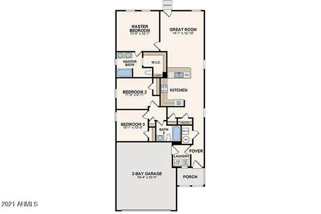 1057 S 9TH Place, Coolidge, AZ 85128 (MLS #6298389) :: Klaus Team Real Estate Solutions