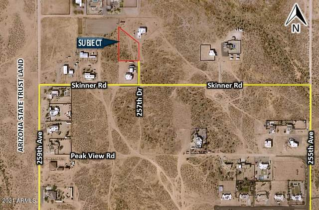 293XX N 257th Drive, Wittmann, AZ 85361 (MLS #6298737) :: Executive Realty Advisors