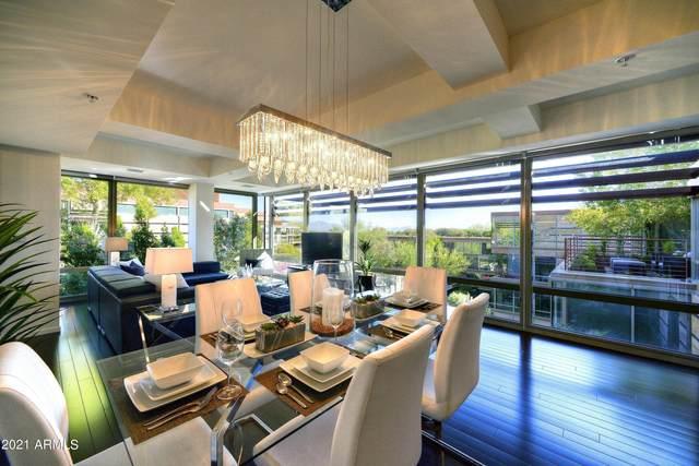 7157 E Rancho Vista Drive #7010, Scottsdale, AZ 85251 (MLS #6299164) :: The Daniel Montez Real Estate Group