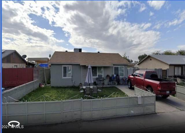 7401 W Alvarado Road, Phoenix, AZ 85035 (MLS #6299246) :: The C4 Group