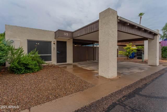 1725 N Date Street #35, Mesa, AZ 85201 (MLS #6299341) :: The Daniel Montez Real Estate Group