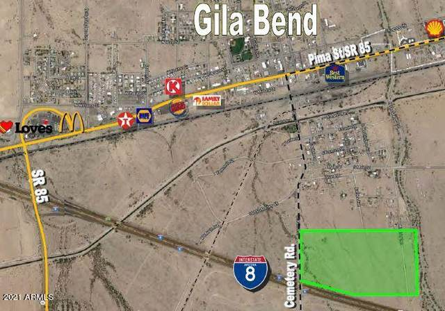 00 N Cemetery Road, Gila Bend, AZ 85337 (MLS #6299367) :: Service First Realty