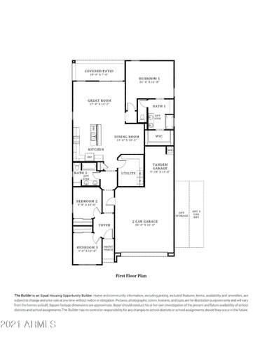 1907 W Pinkley Avenue, Coolidge, AZ 85128 (MLS #6299429) :: Service First Realty