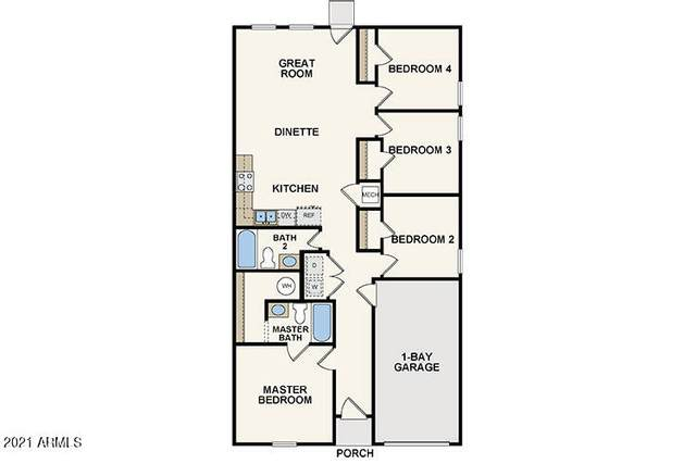 136 W Dewey Avenue, Coolidge, AZ 85128 (MLS #6299600) :: Service First Realty