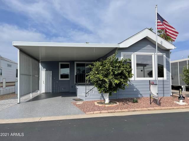 7750 E Broadway Road #65, Mesa, AZ 85208 (MLS #6300276) :: Elite Home Advisors