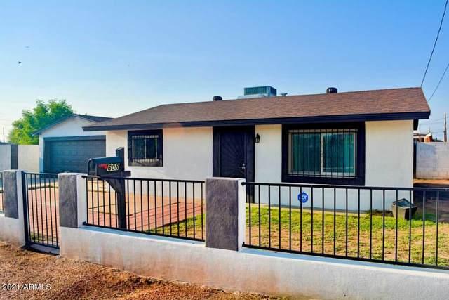 608 E Wier Avenue, Phoenix, AZ 85040 (MLS #6302013) :: Selling AZ Homes Team