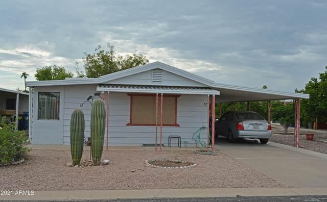 3160 E Main Street #72, Mesa, AZ 85213 (MLS #6302036) :: ASAP Realty