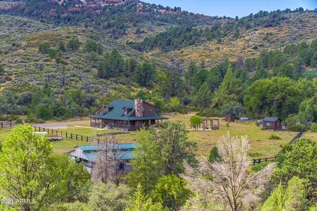 18675 S Miners Camp Road, Kirkland, AZ 86332 (MLS #6302340) :: Elite Home Advisors