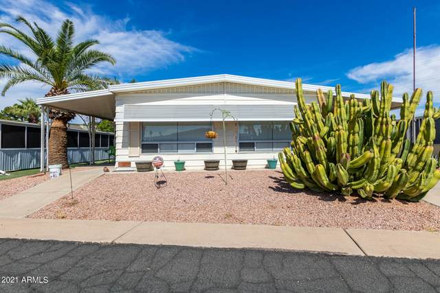 120 N Val Vista Drive #16, Mesa, AZ 85213 (MLS #6303049) :: Elite Home Advisors