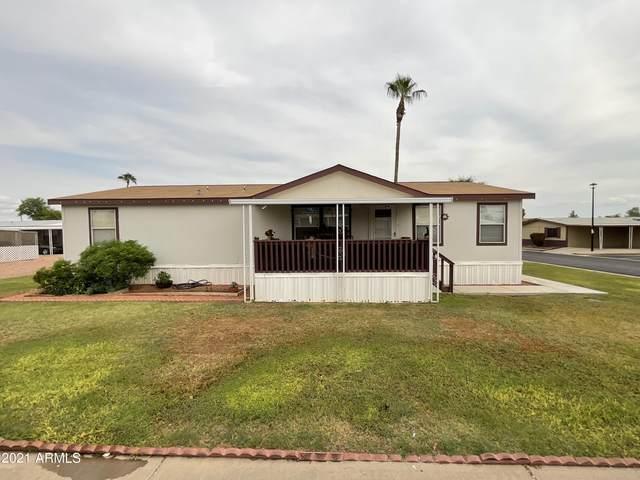 12721 W Greenway Road #138, El Mirage, AZ 85335 (MLS #6303283) :: Elite Home Advisors
