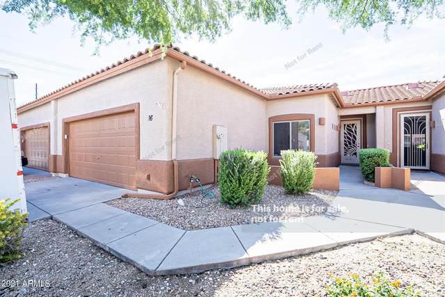 6720 E Encanto Street #16, Mesa, AZ 85205 (MLS #6304895) :: Yost Realty Group at RE/MAX Casa Grande
