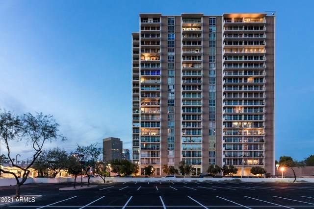 2323 N Central Avenue #1801, Phoenix, AZ 85004 (MLS #6304944) :: Yost Realty Group at RE/MAX Casa Grande