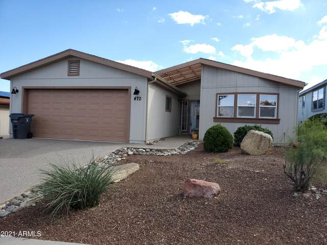 470 W Dakota Drive, Camp Verde, AZ 86322 (MLS #6305505) :: Elite Home Advisors