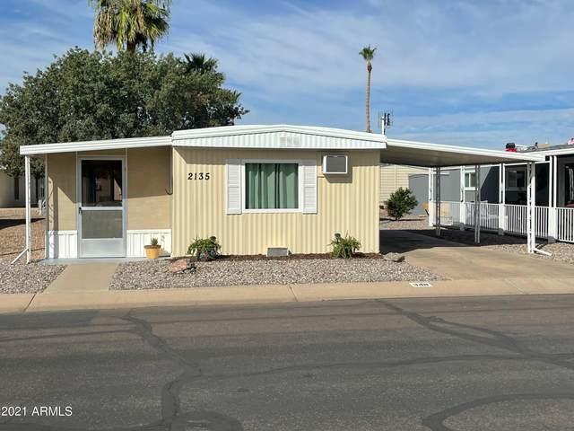 2100 N Trekell Road #348, Casa Grande, AZ 85122 (MLS #6305621) :: Elite Home Advisors
