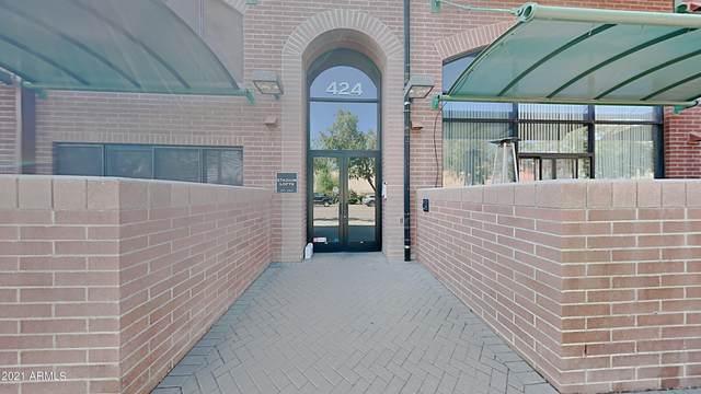 424 S 2ND Street #306, Phoenix, AZ 85004 (MLS #6305778) :: The Helping Hands Team