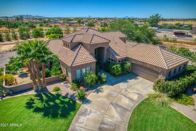 7171 W Appaloosa Trail, Coolidge, AZ 85128 (MLS #6306051) :: The Daniel Montez Real Estate Group