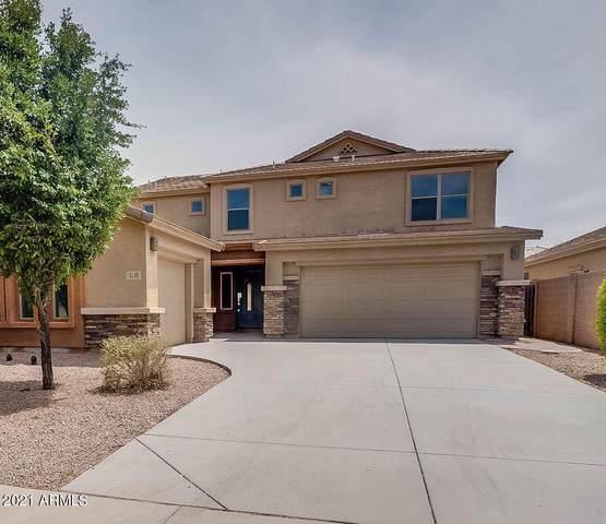 3149 E Silversmith Trail, San Tan Valley, AZ 85143 (MLS #6307342) :: The Laughton Team