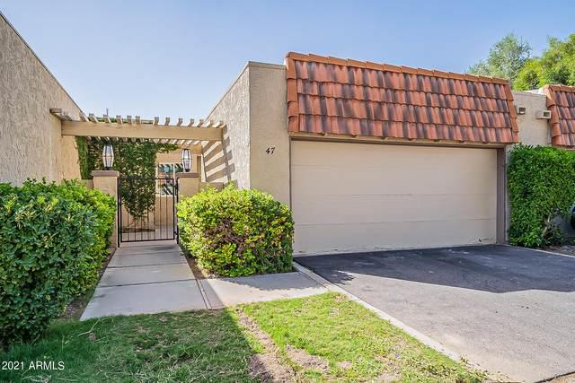5100 N Miller Road #47, Scottsdale, AZ 85250 (#6307533) :: AZ Power Team