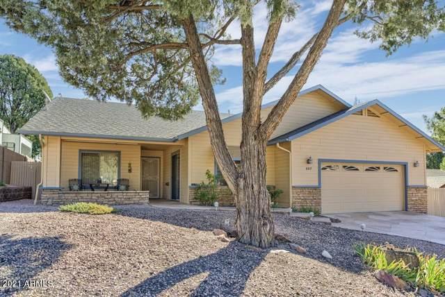 607 N Eagle Ridge Road, Payson, AZ 85541 (MLS #6308084) :: The Luna Team
