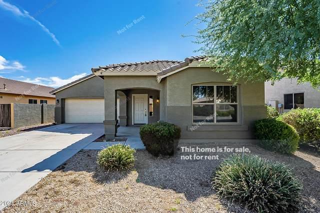 20991 N Leona Boulevard, Maricopa, AZ 85138 (MLS #6308250) :: TIBBS Realty