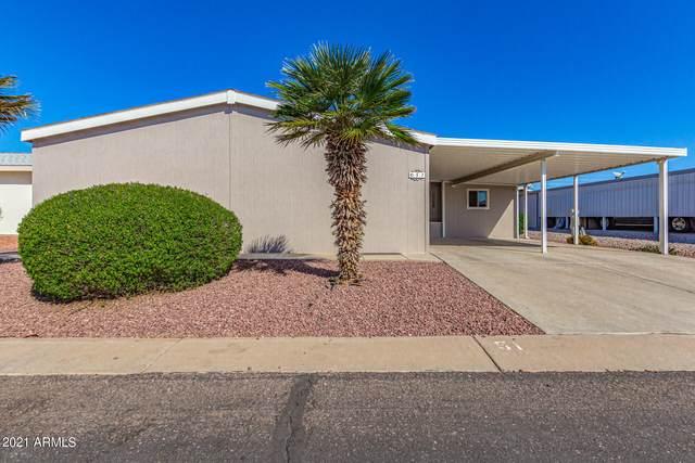 437 E Germann Road #51, San Tan Valley, AZ 85140 (MLS #6308469) :: The Luna Team