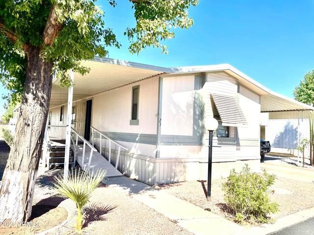 652 S Ellsworth Road #23, Mesa, AZ 85208 (MLS #6308532) :: The Garcia Group