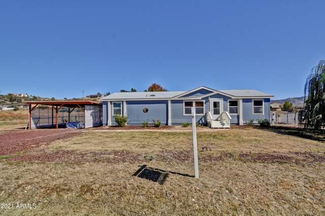 18415 S Henry Coe Road, Peeples Valley, AZ 86332 (MLS #6308542) :: The Laughton Team