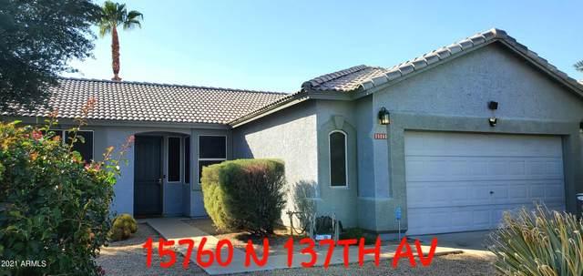 15760 N 137TH Avenue, Surprise, AZ 85374 (MLS #6308552) :: Keller Williams Realty Phoenix