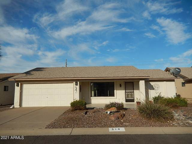 514 S 76TH Place, Mesa, AZ 85208 (MLS #6308760) :: Long Realty West Valley