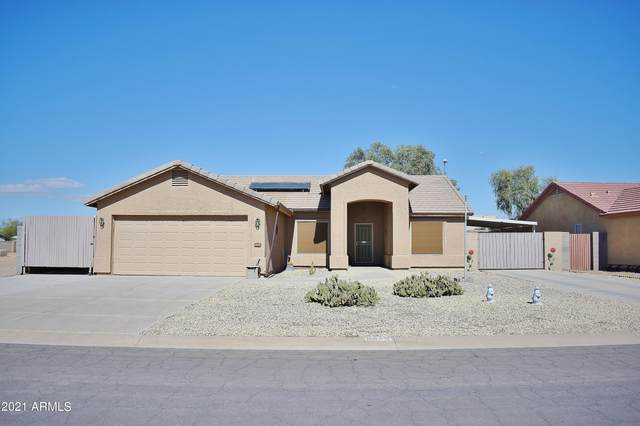 8648 W Teresita Drive, Arizona City, AZ 85123 (MLS #6309374) :: The Daniel Montez Real Estate Group