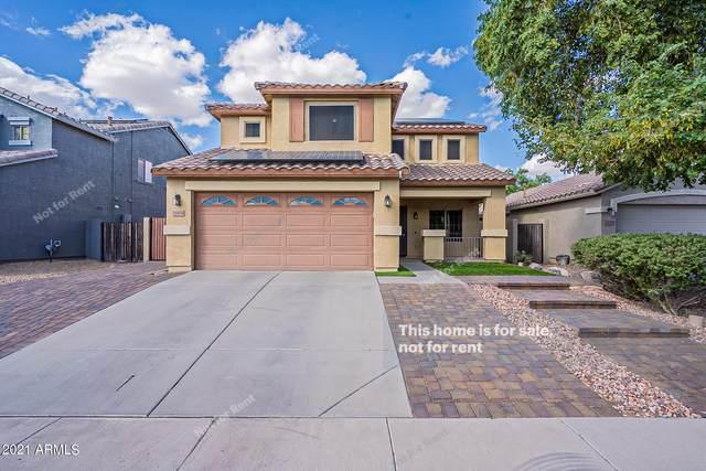 21054 N Sansom Drive, Maricopa, AZ 85138 (MLS #6309786) :: The Garcia Group