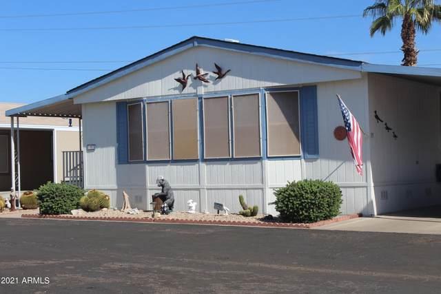 11596 W Sierra Dawn Boulevard W #35, Surprise, AZ 85378 (MLS #6310068) :: Elite Home Advisors