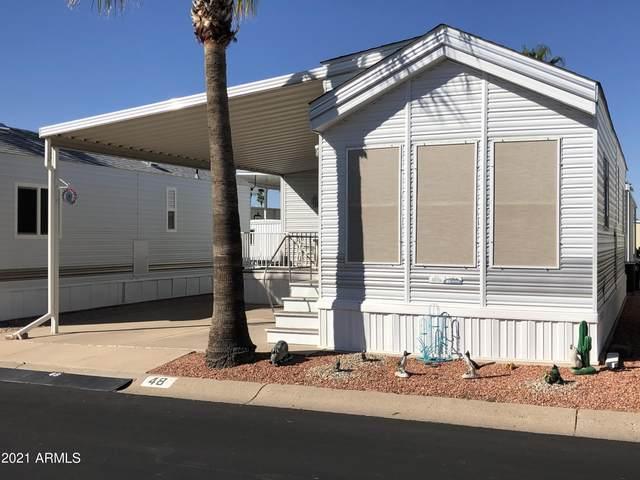 48 S Iron Ore Drive, Apache Junction, AZ 85119 (MLS #6310353) :: The Copa Team | The Maricopa Real Estate Company