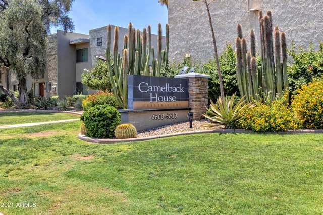 4620 N 68TH Street #158, Scottsdale, AZ 85251 (MLS #6310419) :: Maison DeBlanc Real Estate