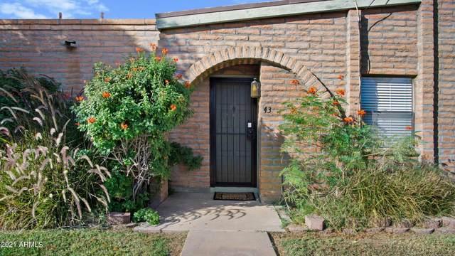 4429 E Hubbell Street #43, Phoenix, AZ 85008 (MLS #6310644) :: Howe Realty
