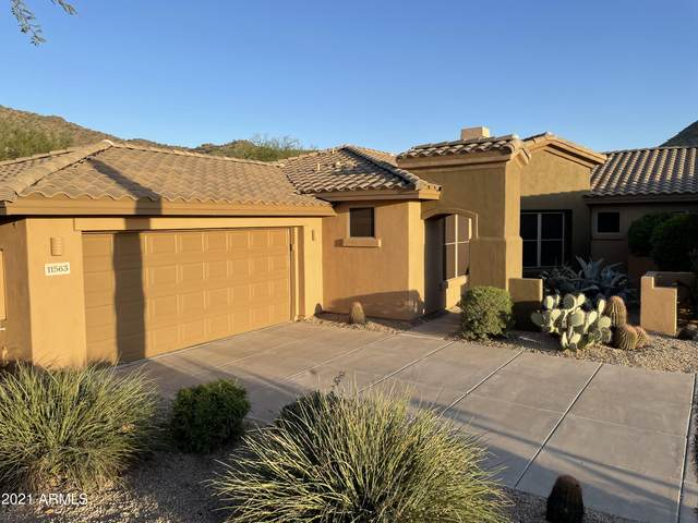 11563 E Raintree Drive, Scottsdale, AZ 85255 (MLS #6310899) :: Midland Real Estate Alliance