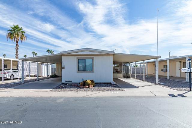 2100 N Trekell Road #129, Casa Grande, AZ 85122 (MLS #6311024) :: Maison DeBlanc Real Estate