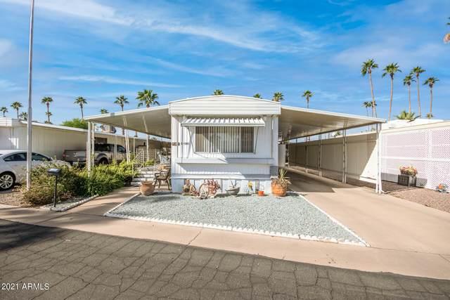 7300 N 51ST Avenue E180, Glendale, AZ 85301 (MLS #6311034) :: Elite Home Advisors