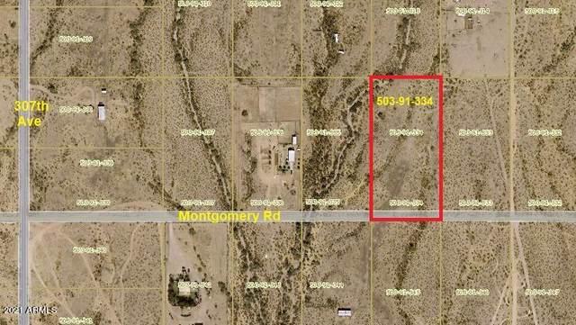 30400 W Montgomery Road, Wittmann, AZ 85361 (MLS #6311353) :: Power Realty Group Model Home Center